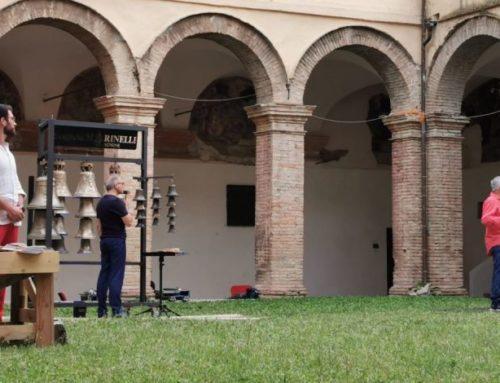 Alla Fonderia Marinelli suona una campana per Dante