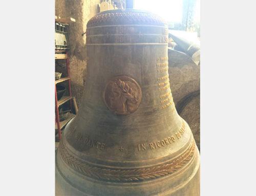 La Casa Matha di Ravenna rende omaggio al Sommo Poeta col suono di una campana